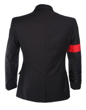 michael jackson bad buckle blazer