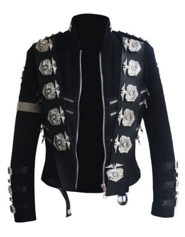 michael jackson bad punk jacket