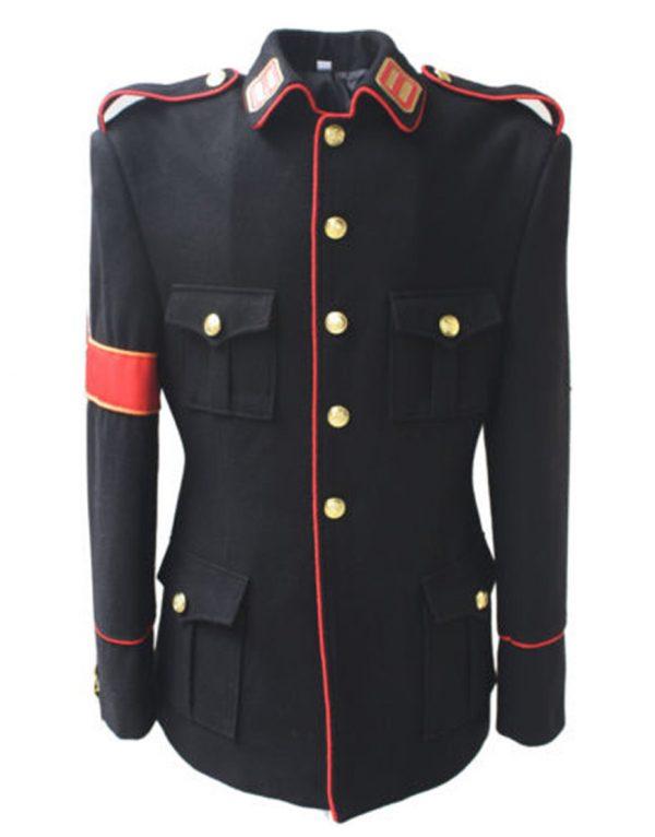 michael jackson cte military style black jacket