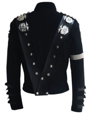 michael jackson punk bad tour jacket