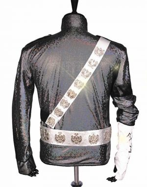 michael jackson satin jacket