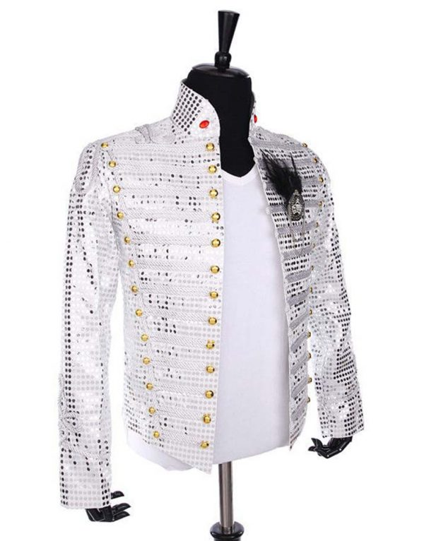 michael jackson white sequin jacket