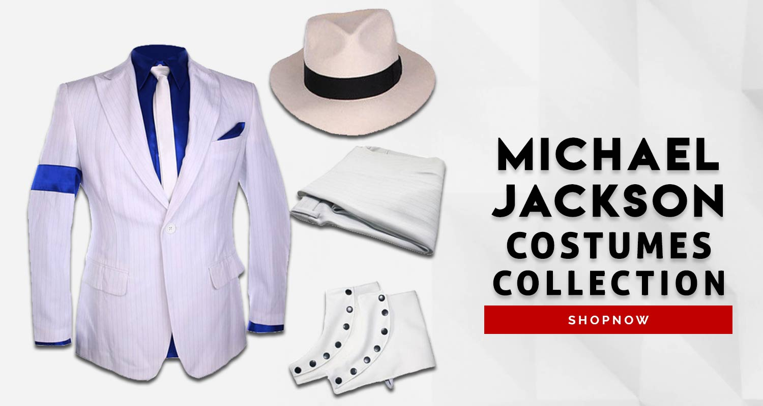 Michael Jackson Costume Category Front Page Banner