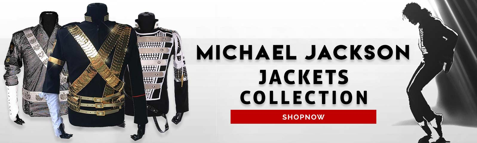 Michael Jackson Jacket Category Front Page Banner