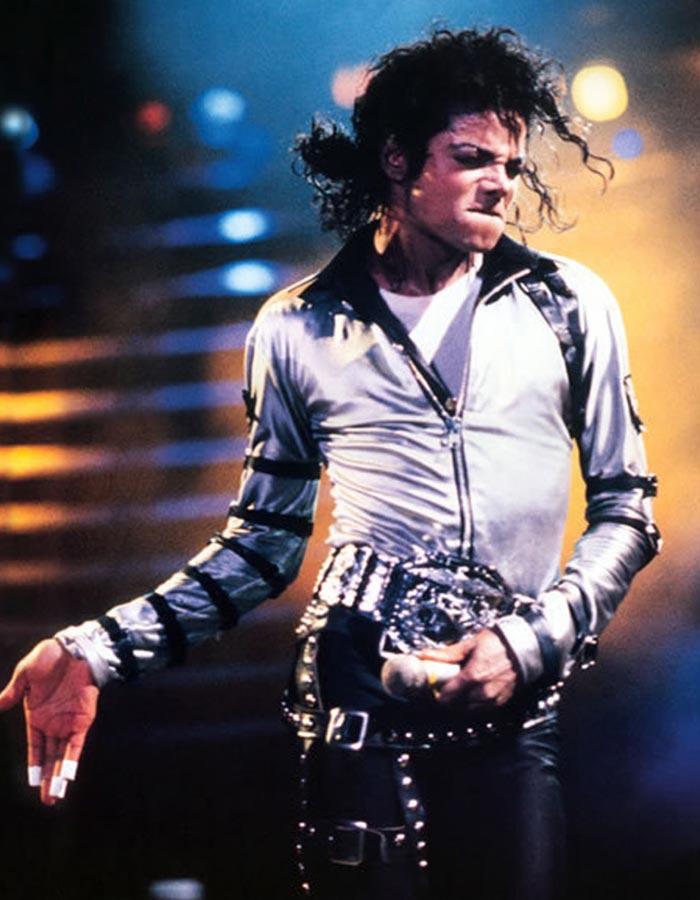 Michael Jackson Bad Tour Satin Costume
