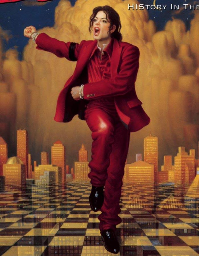 Michael Jackson Blood On The Dance Floor Costume