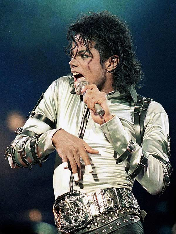 Michael Jackson Bad Tour Satin Jacket Costume