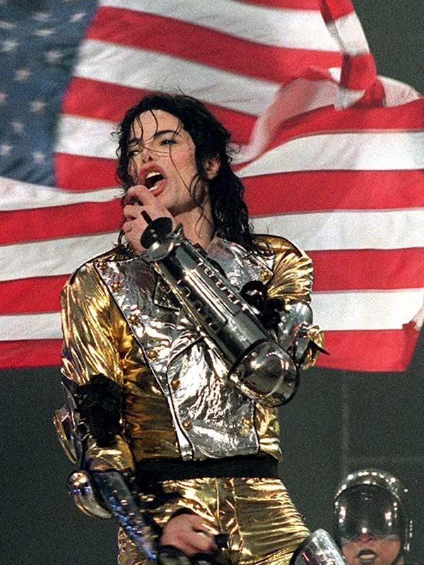 Michael Jackson History World Tour Golden Costume