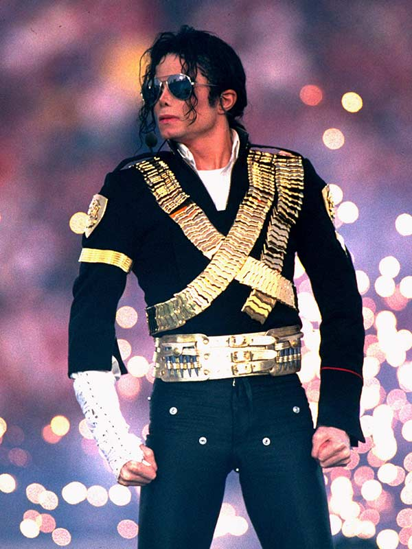 Michael Jackson Jam Golden Belt Costume