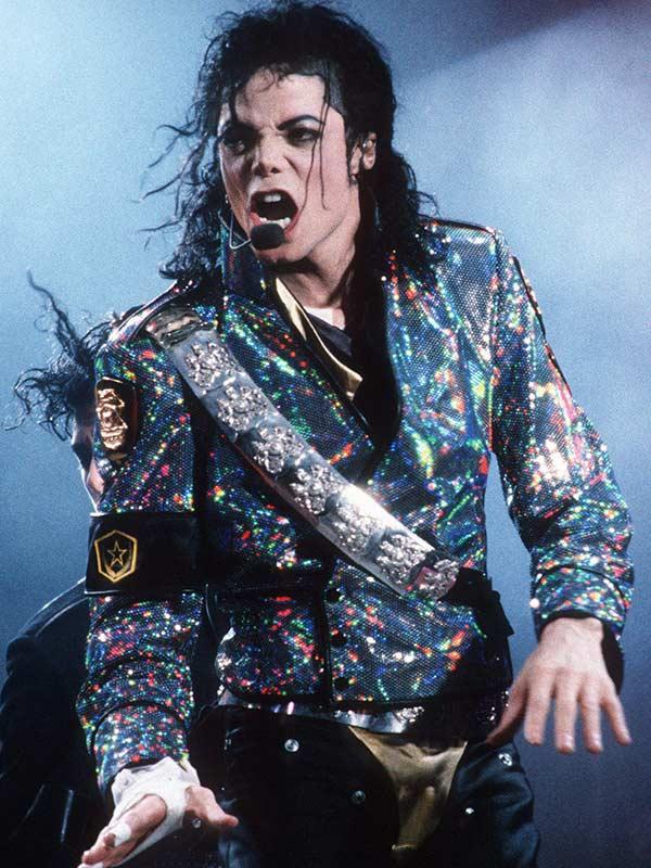 Michael Jackson Jam Satin Jacket Costume