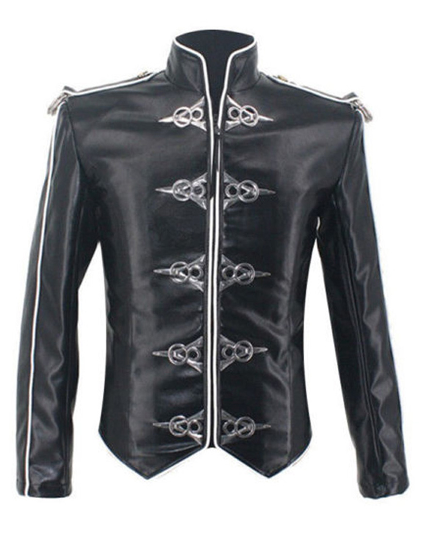 best site fashionable patterns on sale Michael Jackson V8 Leather Jacket