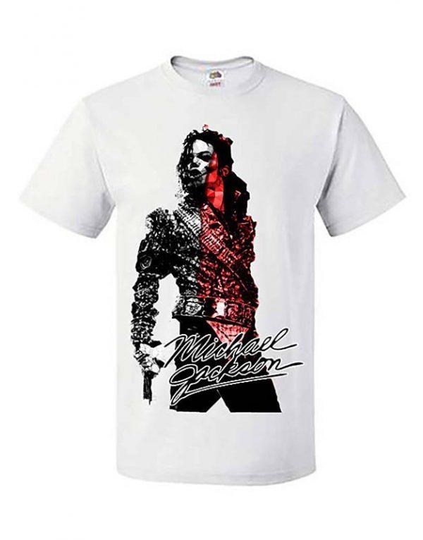 Michael Jackson Autograph T-Shirt