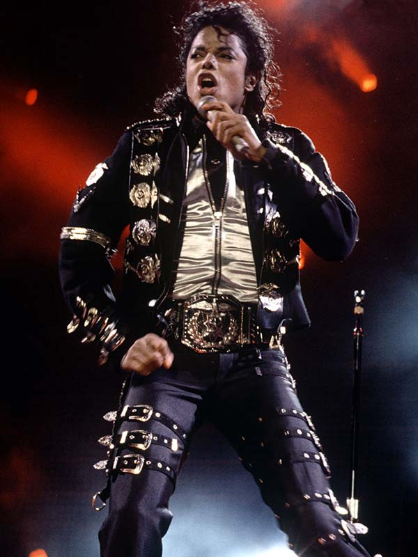 Michael Jackson Bad Tour Punk Costume