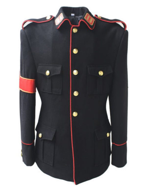 michael jackson cte military style black jacket