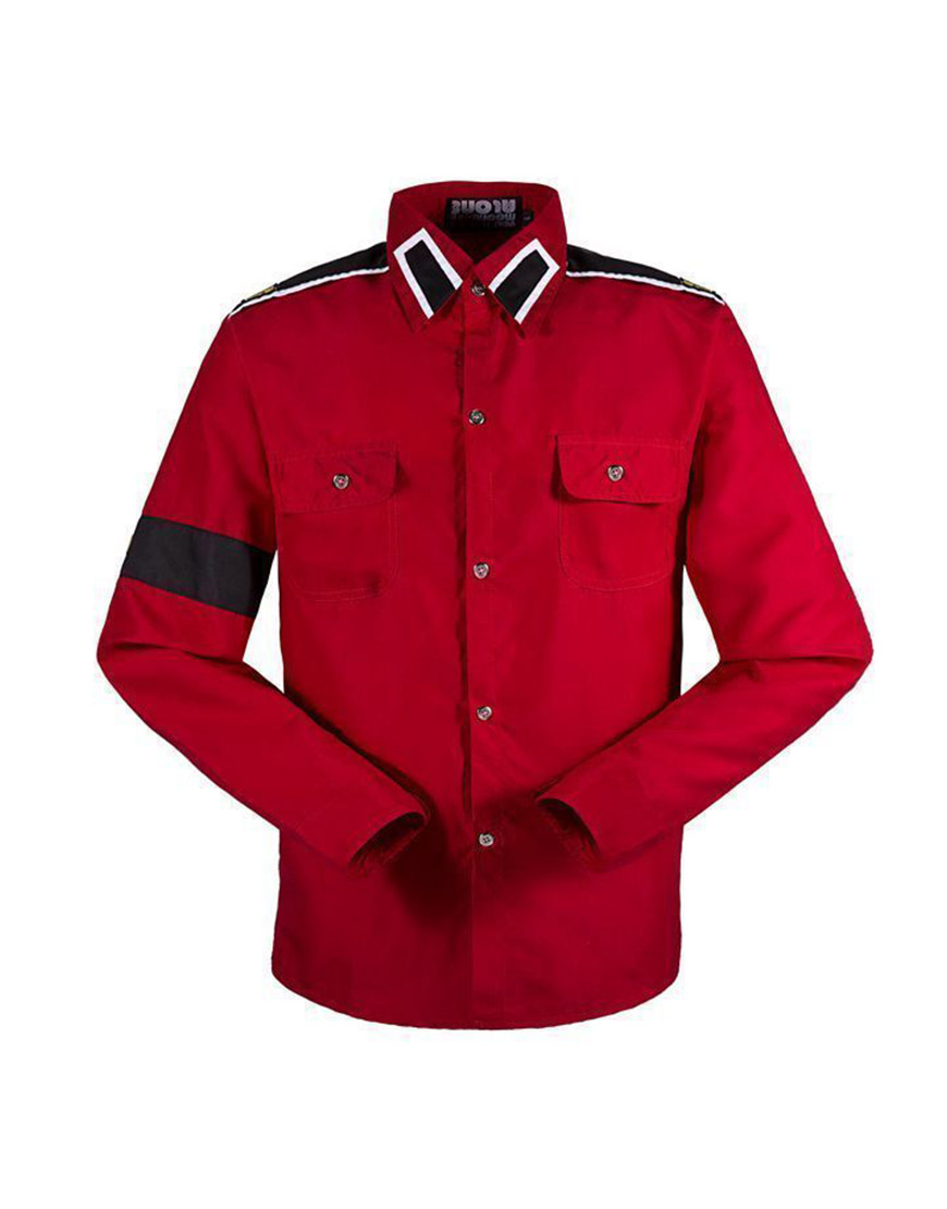 Michael Jackson Red CTE Shirt