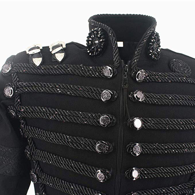 michael-jackson-retro-black-military-jacket