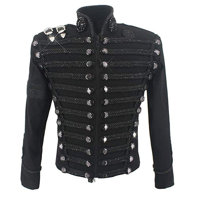 michael-jackson-retro-military-black-jacket