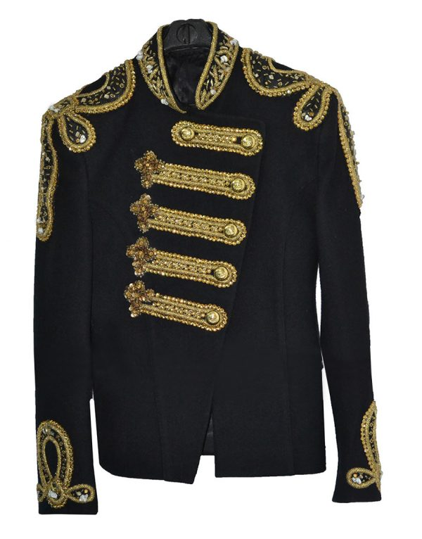 Michael Jackson Balmain Style Golden Embroidery Jacket