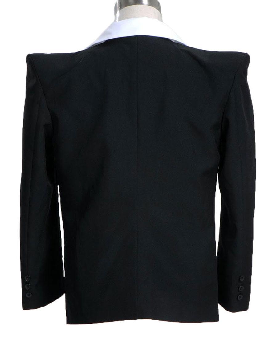Michael Jackson Human Nature Black Tuxedo Jacket