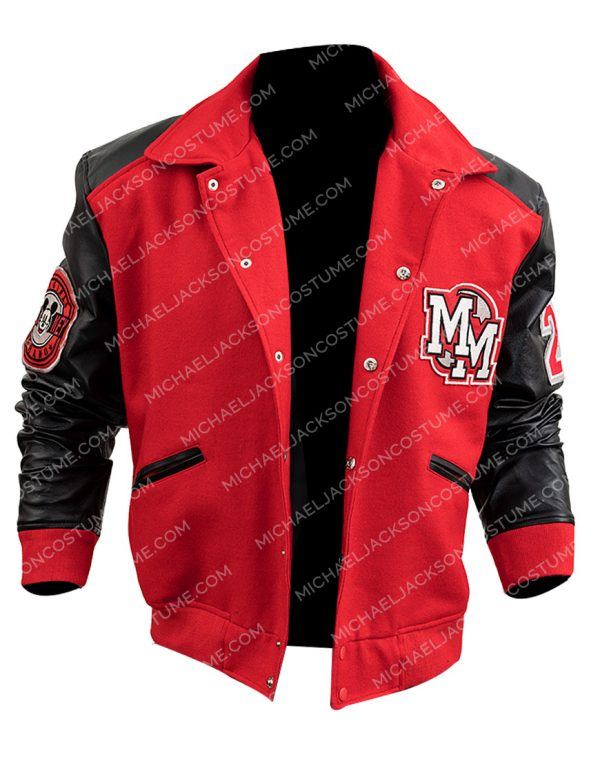 Mickey Mouse Michael Jackson Letterman Jacket