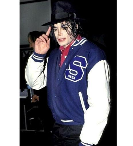 Michael Jackson Sonic The Hedgehog Baseball Jacket