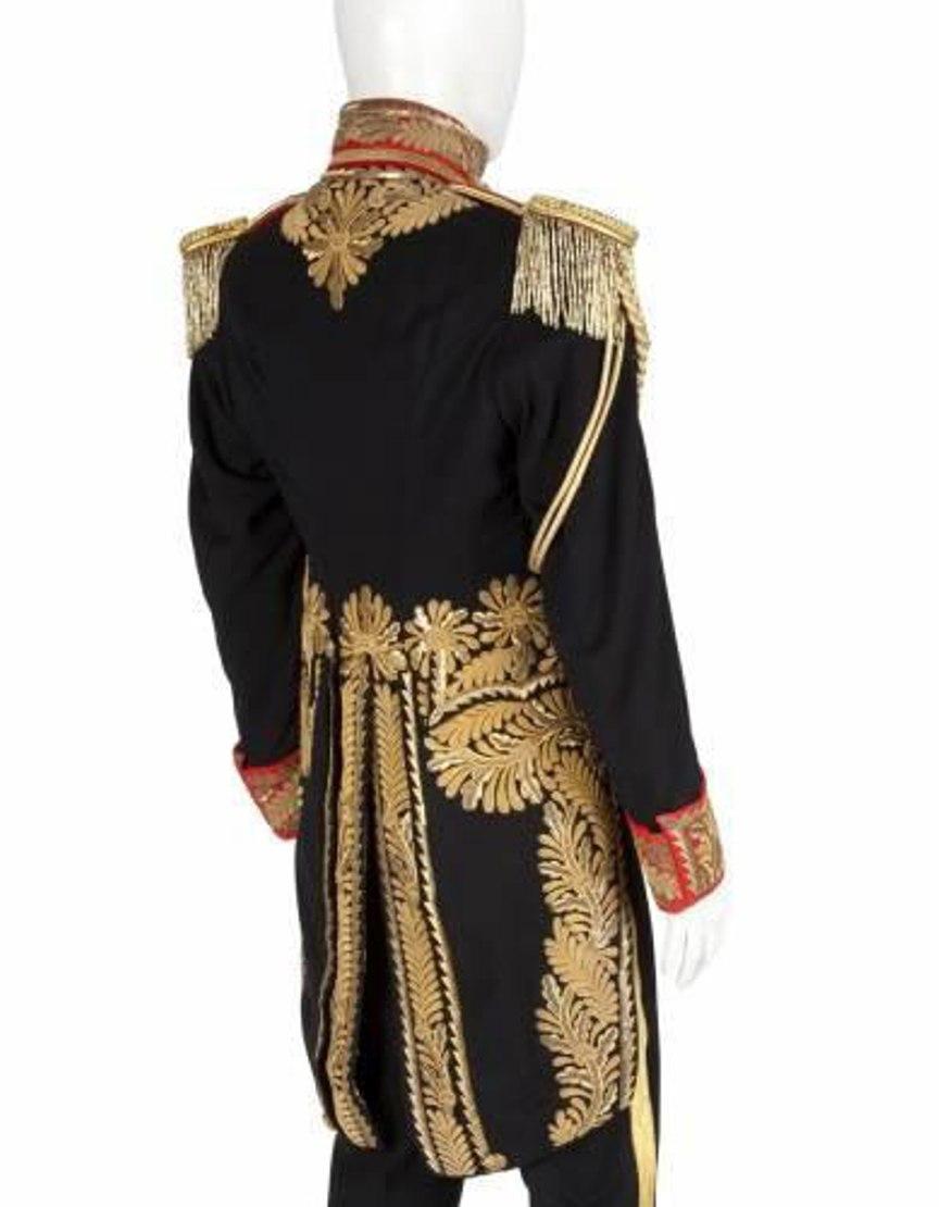 Michael Jackson Royal Military Tail Cotton Coat