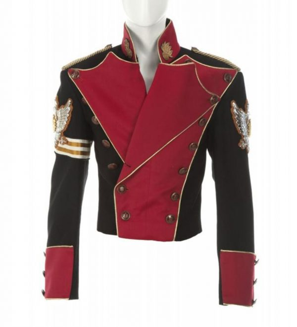 Michael Jackson Double Breasted Cotton Jacket