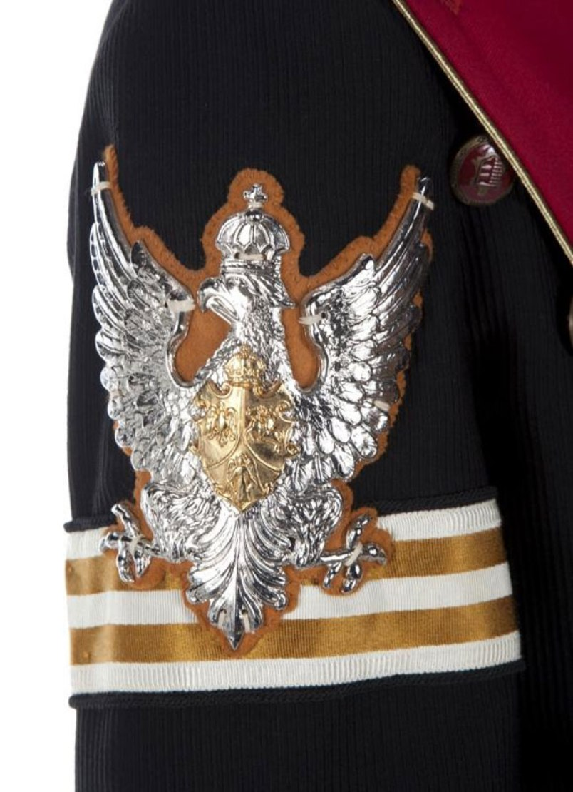 Michael Jackson Double Breasted Eagle Badge