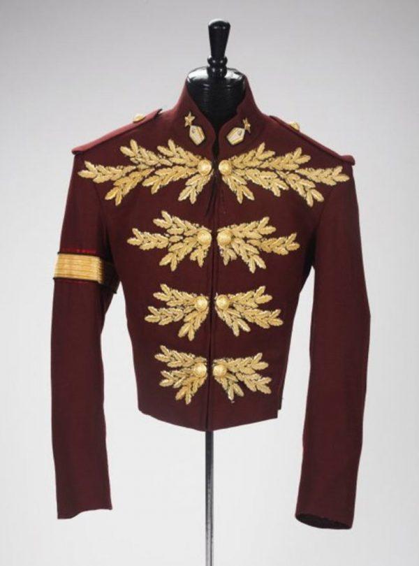 Michael Jackson Maroon Jacket